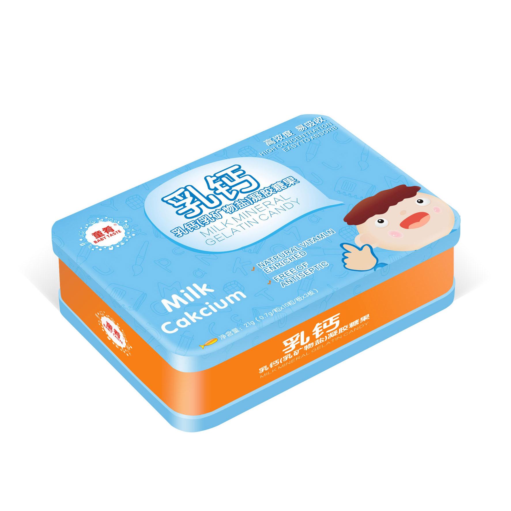 乳钙(乳矿物盐)凝胶糖果